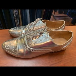 J.Crew Silver Shoes